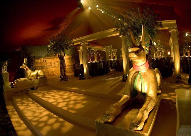 Impreza w stylu starożytnego Egiptu