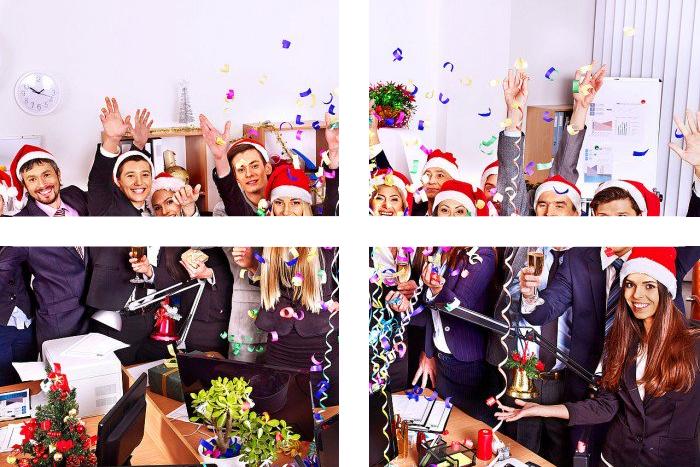 Impreza w stylu świątecznym