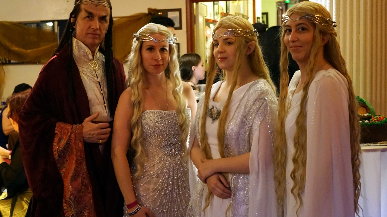 Impreza w stylu Władca Pierścieni