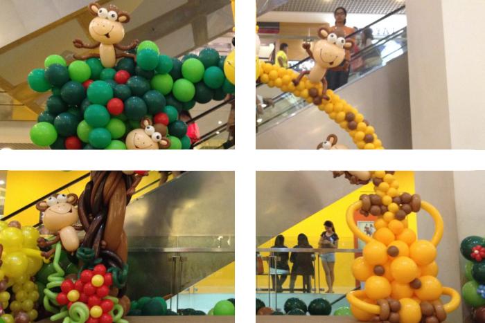 Impreza w stylu zoo