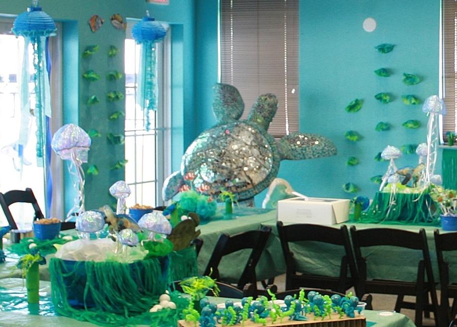 Impreza w stylu morskim