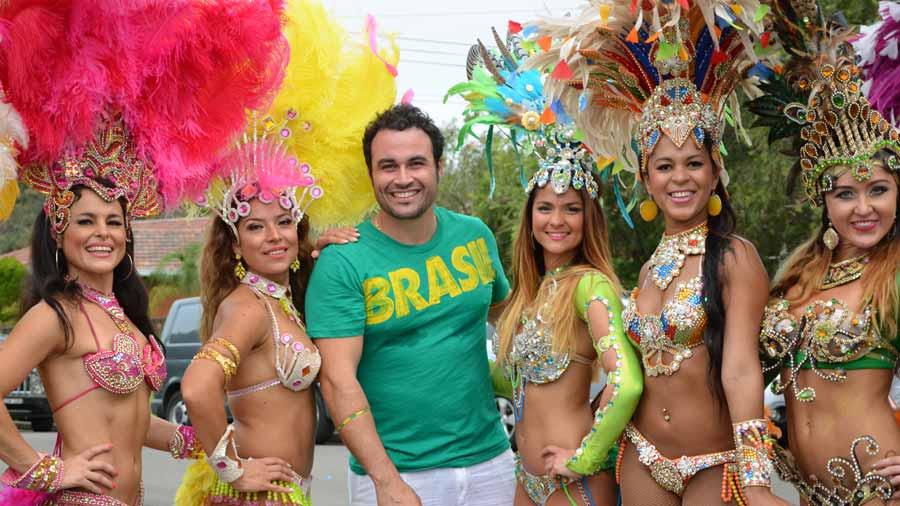 Impreza w stylu Rio de Janeiro