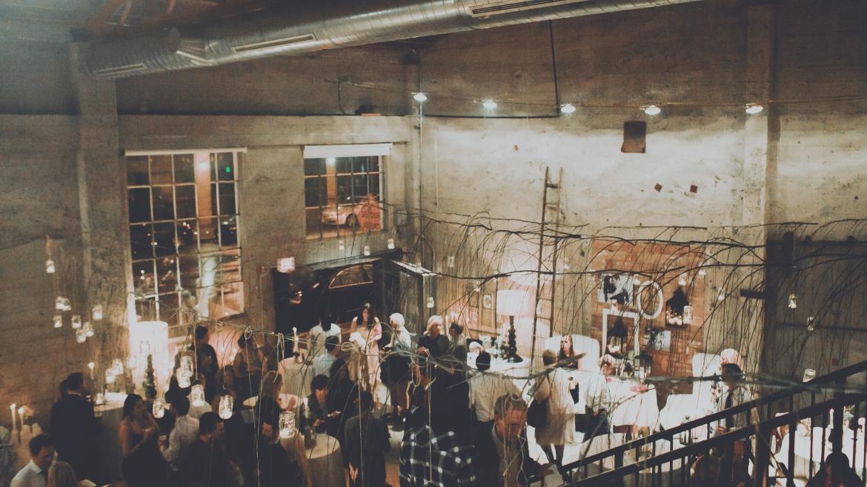 Impreza w stylu industrialnym