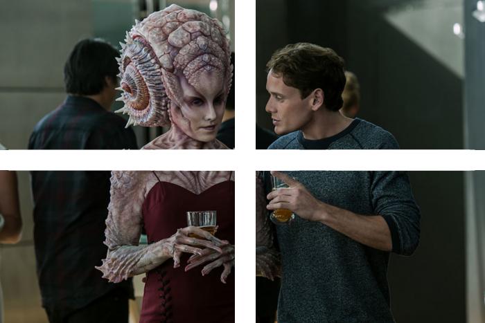 impreza w stylu Star Trek