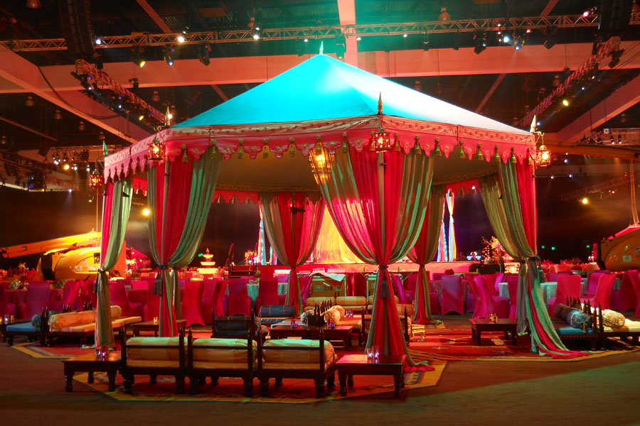 Impreza w stylu indyjskim