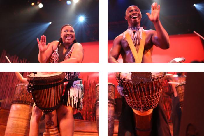 impreza w stylu afrykańskim