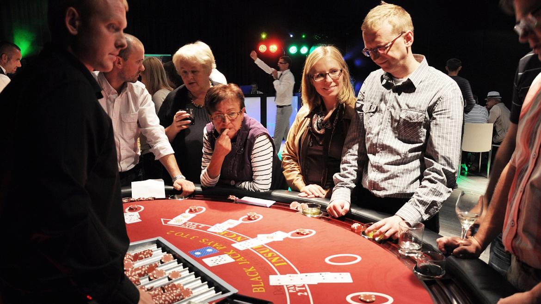 Impreza w stylu kasyno