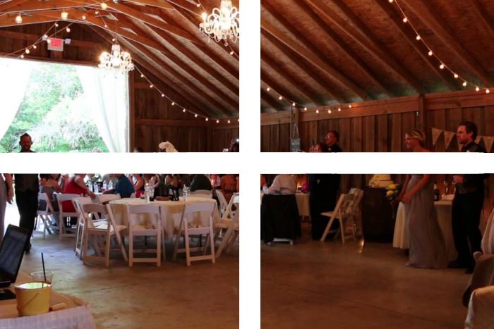 impreza w stylu weselnym